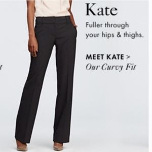LOFT - NWT Kate Stretch Dress Pant - Charcoal